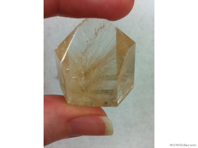 Rutilated Quartz - Pencil